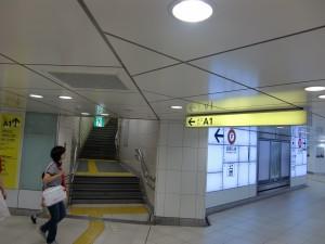 新宿三丁目駅からの道案内−1