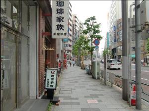 新宿御苑駅からの道案内ー3