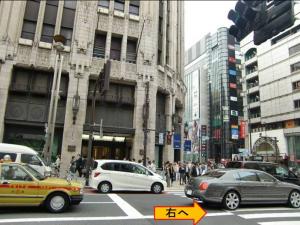 新宿三丁目駅からの道案内−2