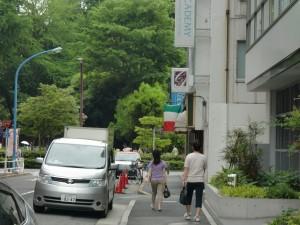 新宿御苑駅からの道案内ー6