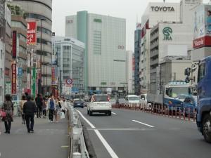 新宿駅南口からの道案内ー3