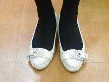 靴の構造上、調整できる範囲が狭い靴