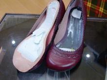 靴の出来はイマイチ